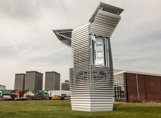 Se inauguró la primera torre descontaminante del mundo
