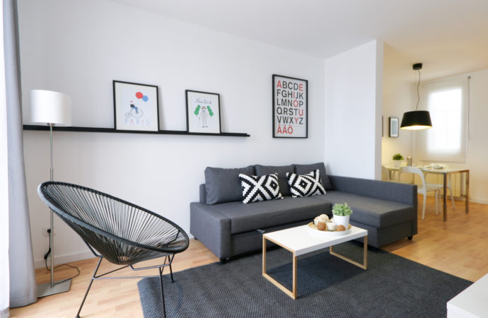 ¿Alquilar con o sin muebles?